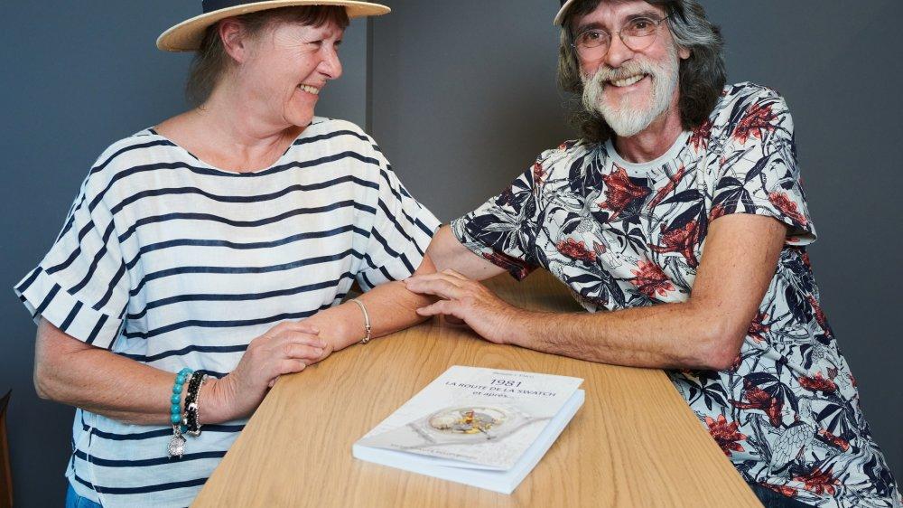 Marlyse Schmid et Bernard Müller, qui sont à l'origine du design de la Swatch.