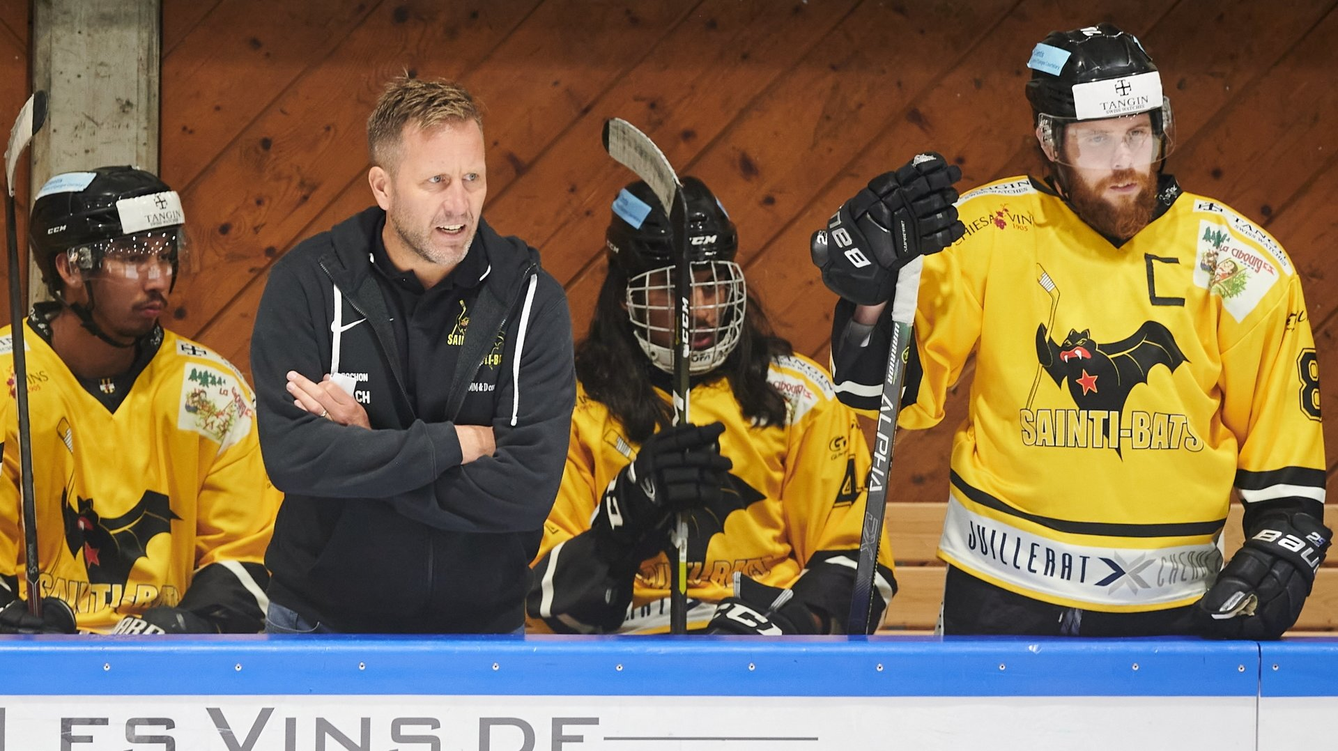 Steve Pochon et le HC Saint-Imier visent une participation à la finale.