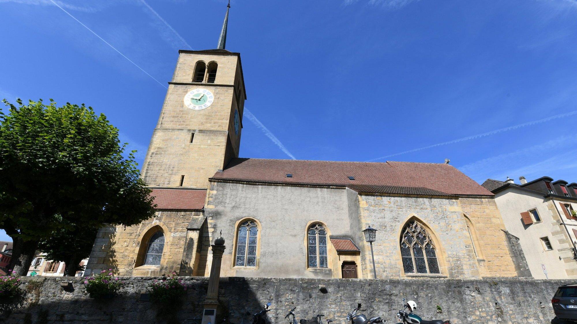 Les autorités communales de Saint-Blaise et d'Hauterive se prononceront cet hiver sur le crédit de rénovation du temple, estimé à trois millions de francs.