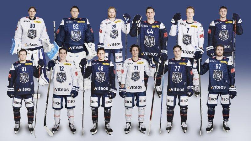 Découvrez notre infographie interactive des douze nouveaux joueurs suisses du HCC et le poster de la première équipe.