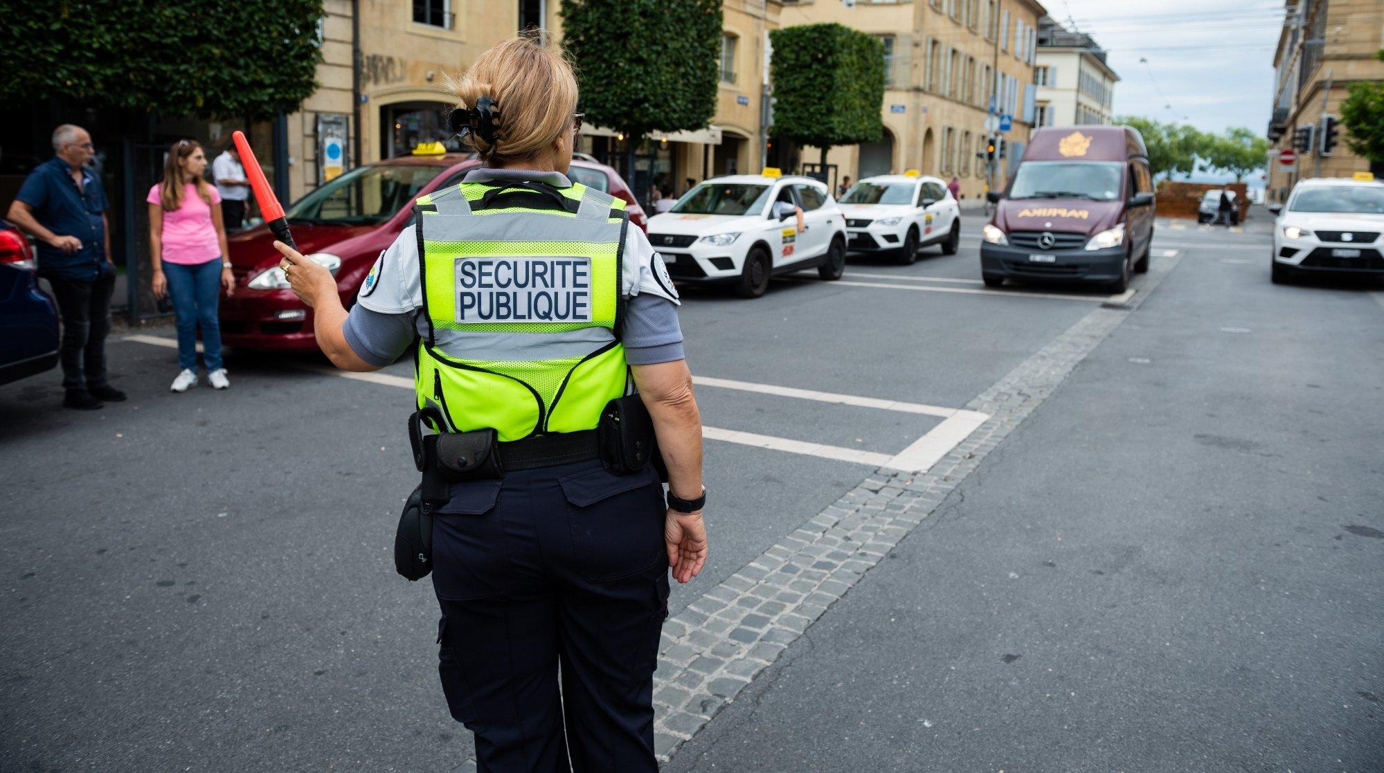 Canton de Neuchâtel: très légère baisse des excès de vitesse lors de la rentrée scolaire