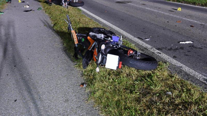 Lucerne: la virée d'un groupe de motards se termine mal avec quatre blessés
