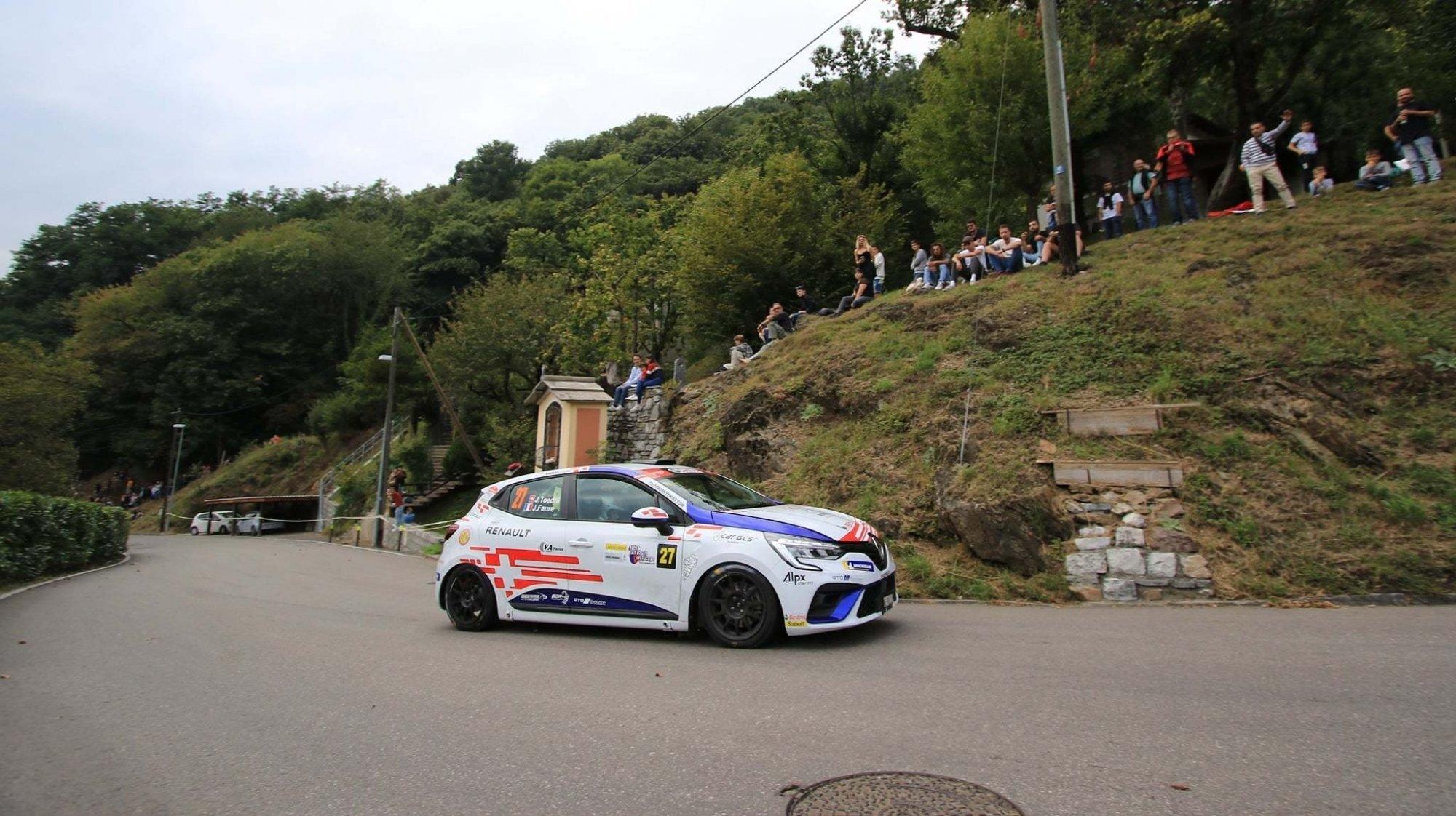 Jérémie Toedtli sacré champion de Suisse juniors de rallye