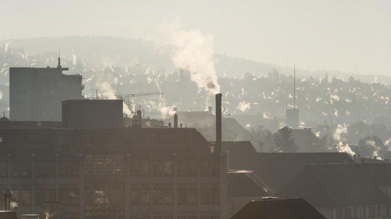 Climat: les émissions de CO2 ont baissé de 2% depuis 1990 en Suisse