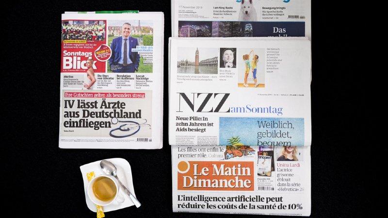 Revue de presse: vaccination, Parmelin décommandé par Macron et affaire Berset... les titres de ce dimanche