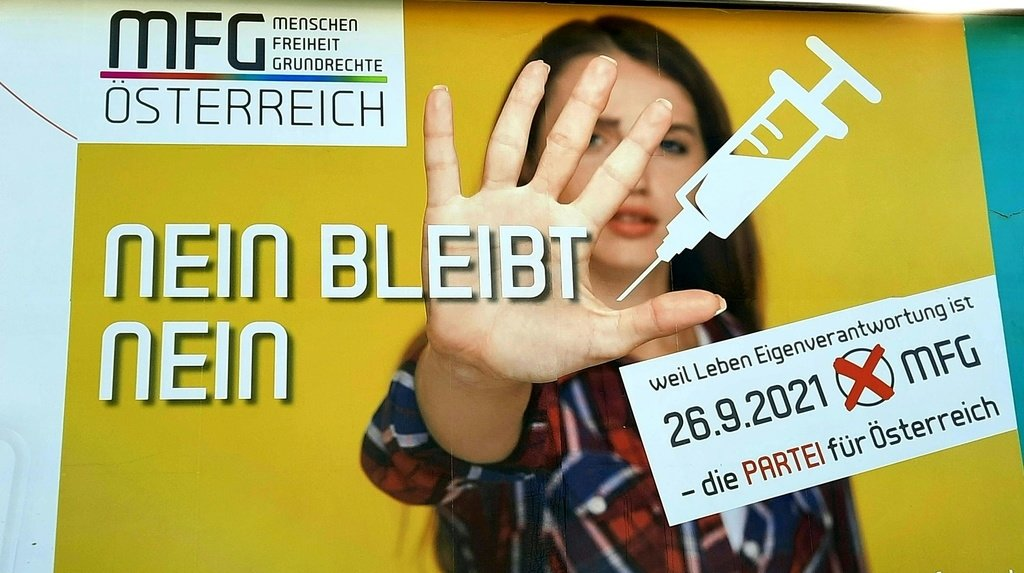 Coronavirus: percée d'un parti anti-vaccins lors d'un scrutin en Autriche