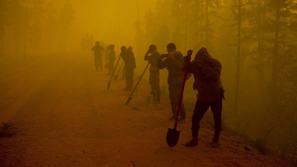 Des feux de forêt «extrêmes» sévissent dans le centre de la Russie