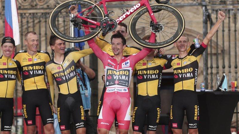 Cyclisme – Tour d'Espagne: Roglic sacré pour la troisième fois d'affilée