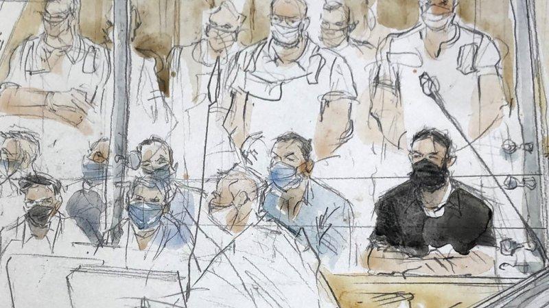 Attentats du 13 novembre: Abdeslam vindicatif à l'ouverture du procès du 13 novembre