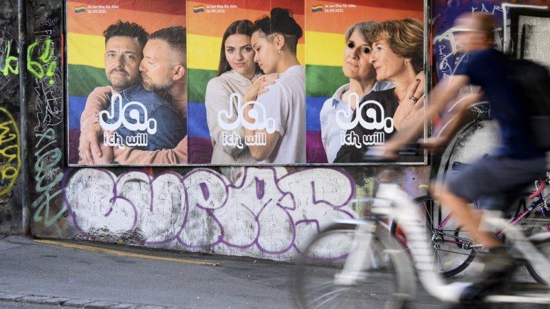 Votations fédérales: les Suisses disent oui au mariage pour tous, non à l'initiative 99%