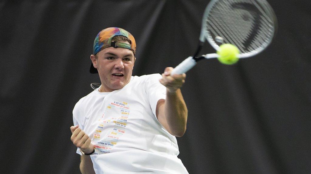 Tennis: Dominic Stricker et Marc-Andrea Hüsler en demi-finales à Bienne