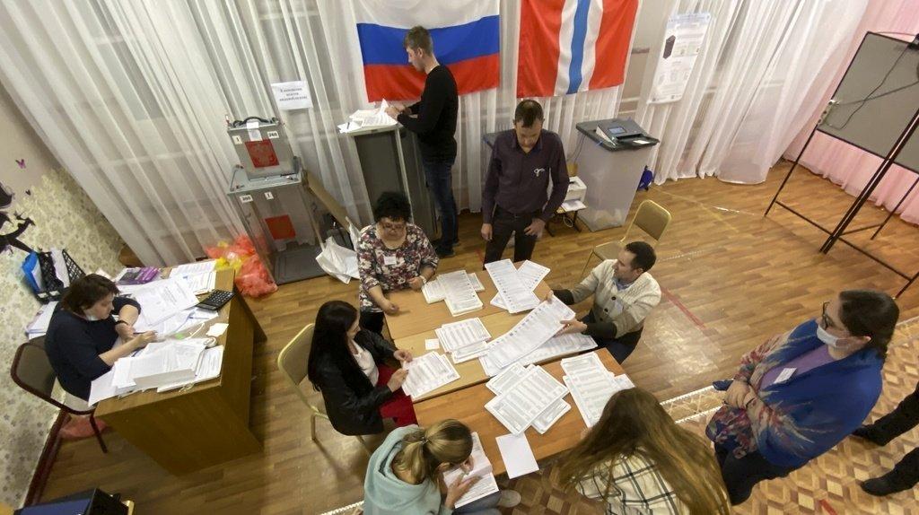 Législatives en Russie: le parti du Kremlin revendique la majorité