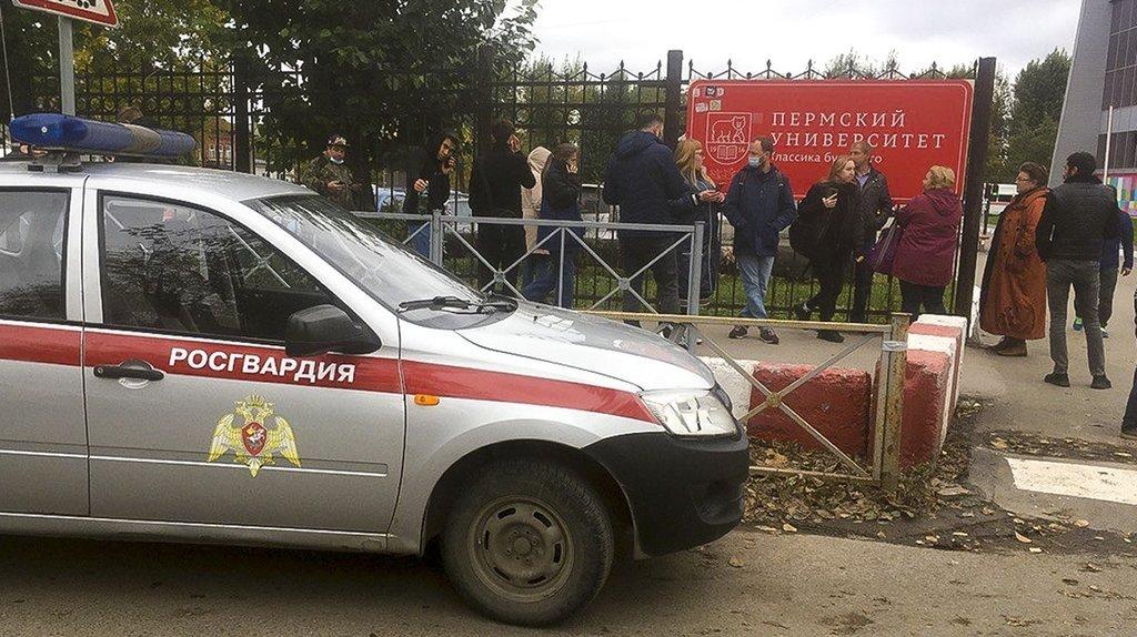 Fusillade à l'université de Perm, en Russie: 6 morts et 28 blessés