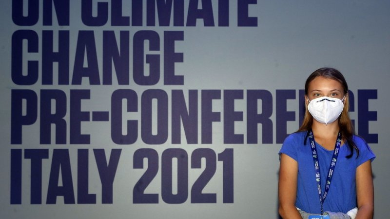 Milan: Greta Thunberg dénonce 30 ans de «bla bla» sur le climat