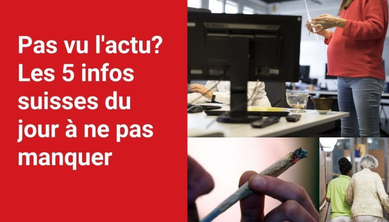 Les 5 infos à retenir dans l'actu suisse de ce mardi 14 septembre