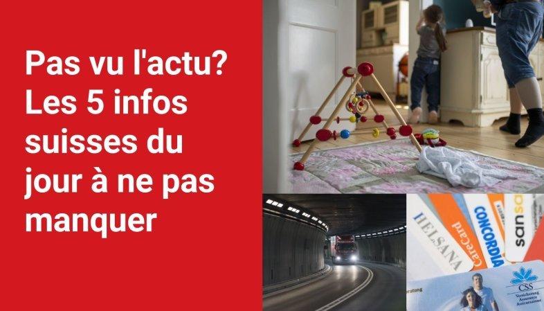 Les 5 infos à retenir dans l'actu suisse de ce mardi 28 septembre