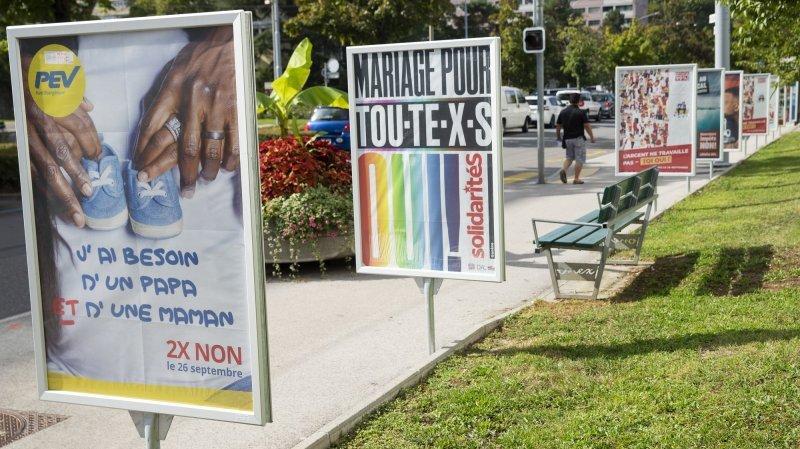 Mariage pour tous (et toutes), initiative 99%: un oui et un non à Neuchâtel