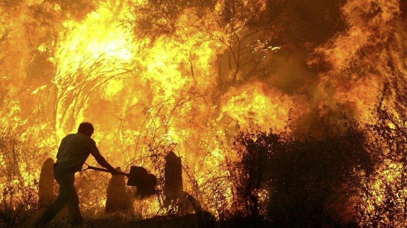 Incendies en Europe: pourquoi le réchauffement climatique n'est pas seul en cause