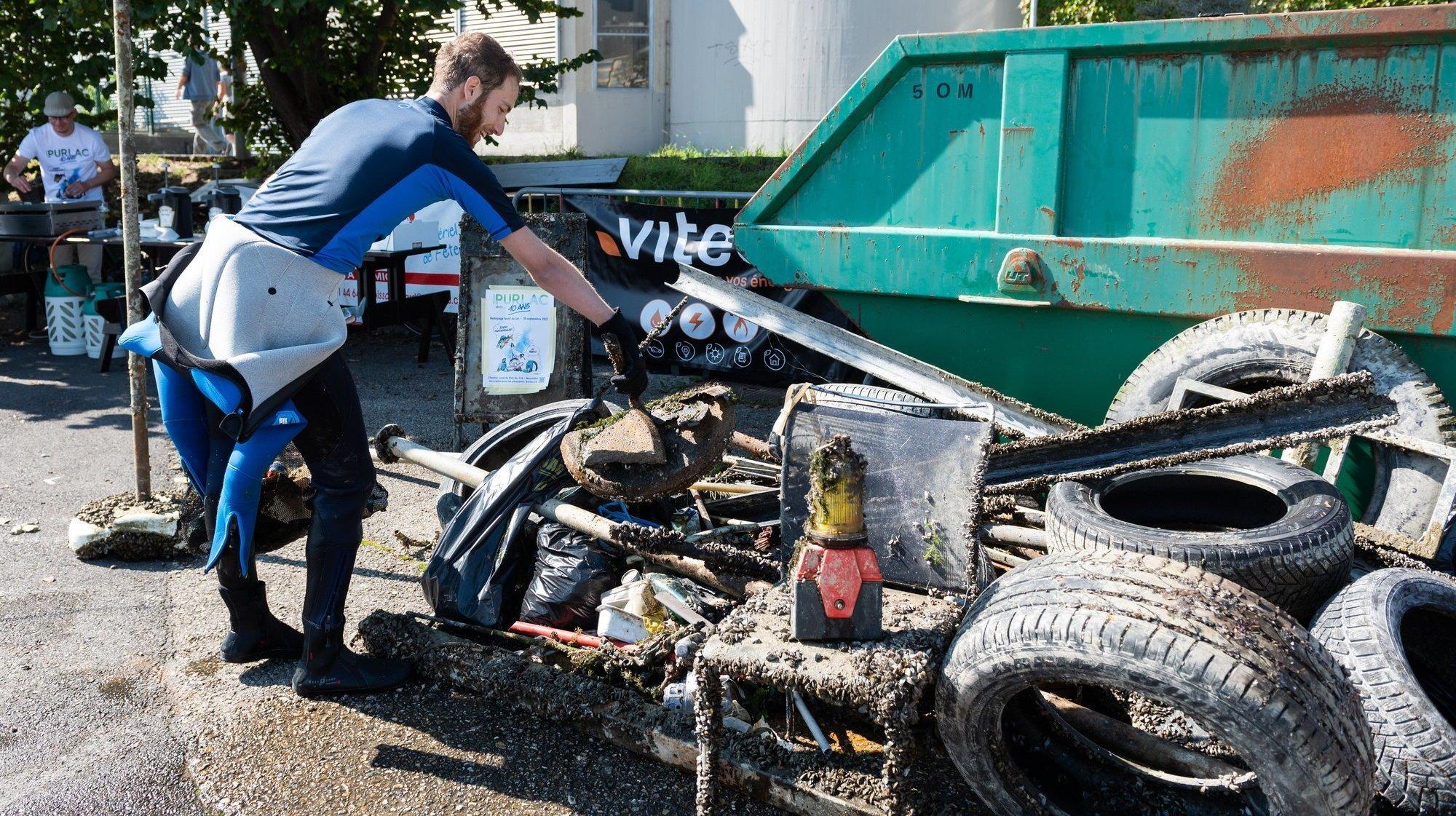 Neuchâtel: en deux jours, les 2600 bénévoles des Poutzdays ramassent 6 tonnes de déchets