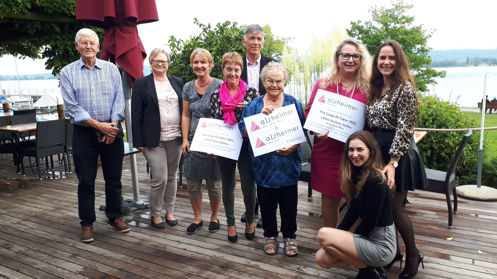 Alzheimer: deux bénévoles de l'Arc Jurassien distinguées