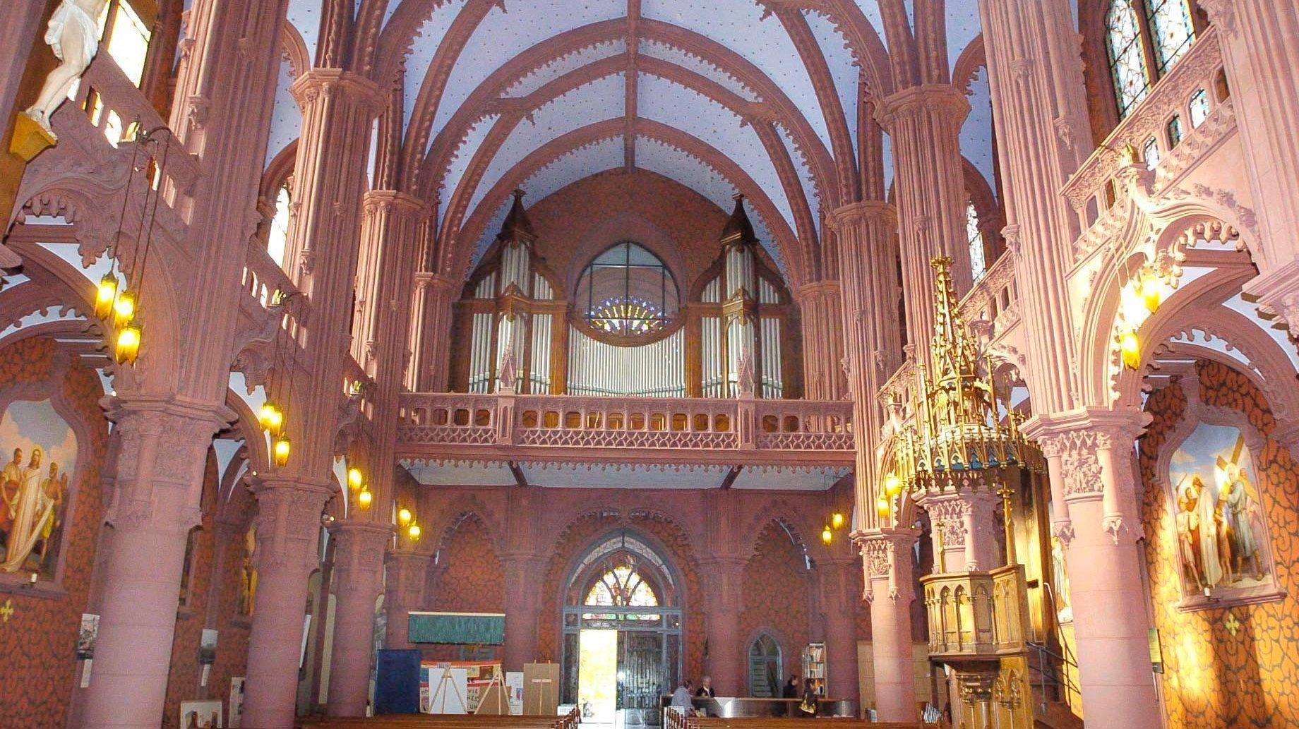 Le nouvel orgue de l'Eglise rouge résonnera en octobre