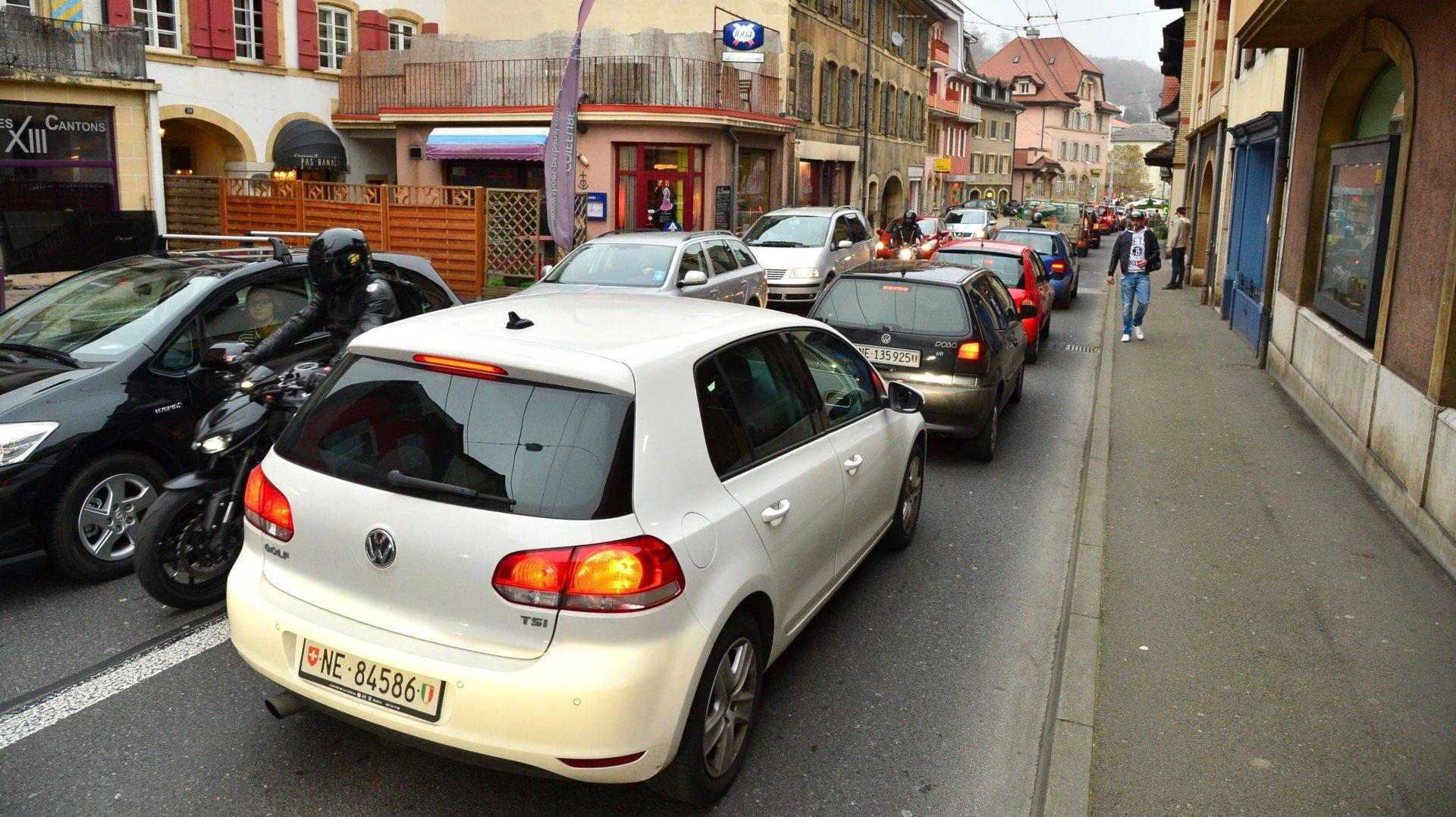 La requalification de la traversée de Peseux fait partie du projet d'agglomération de quatrième génération.
