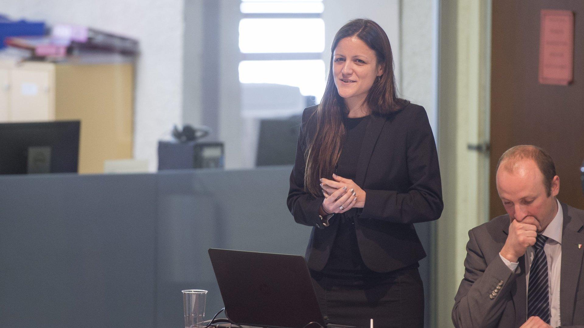 Secrétaire générale du PLR Suisse, la Neuchâteloise Fanny Noghero va quitter la politique