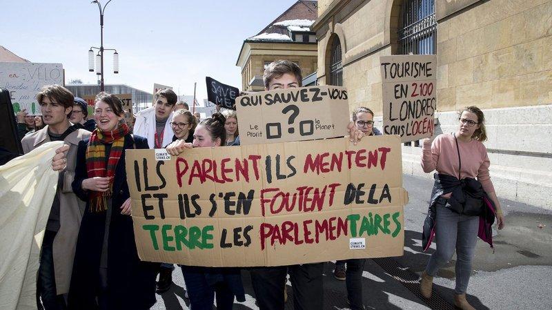 La Grève du climat se présente à La Chaux-de-Fonds