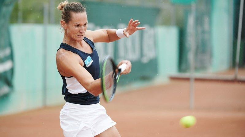 Tennis: Conny Perrin s'incline en finale du double dames au Elle Spirit Open à Montreux