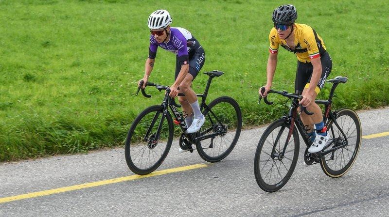 Cette année, Alexis Cohen (en jaune) et Justin Paroz ont tous deux remportés deux étapes du Trophée des montagnes neuchâteloises.