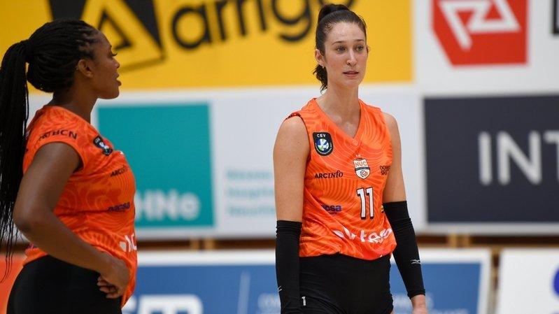 Volleyball: le NUC défiera Mladost Zagreb en Ligue des champions