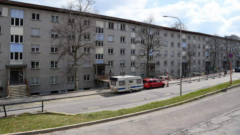 La Chaux-de-Fonds: la démolition va déjà commencer à Bois-Noir