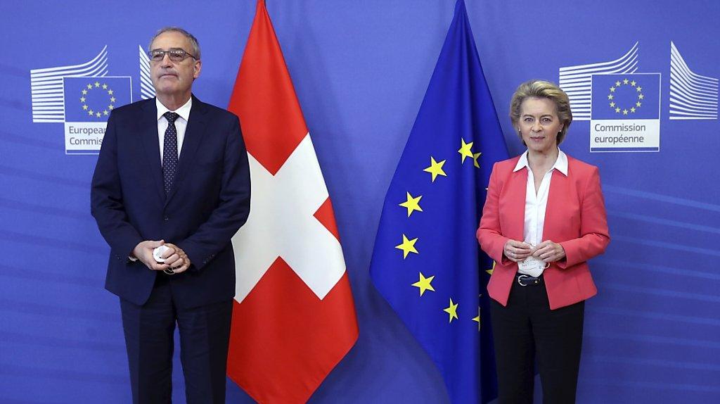 Suisse-UE: «Si le Conseil fédéral ne veut pas de l'accord-cadre, il doit dire ce qu'il veut à la place»