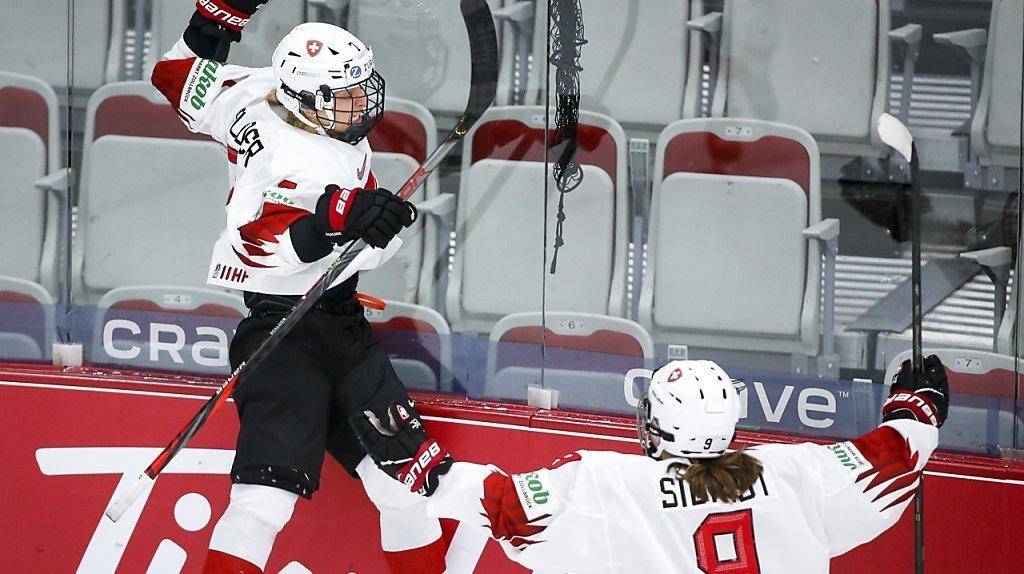 Hockey: les Suissesses terminent logiquement 4e au Mondial