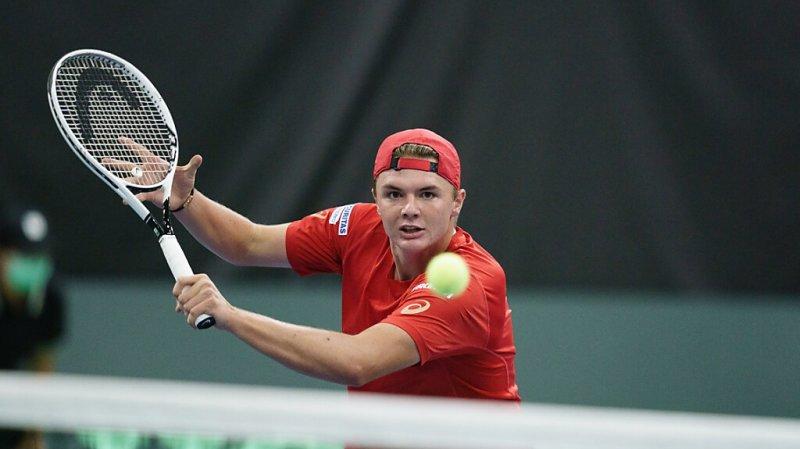 Tennis: Dominic Stricker sort Henri Laaksonen en 8es de finale à Bienne