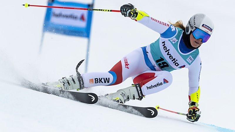 Ski alpin – Coupe du monde: blessée, Corinne Suter manquera Sölden
