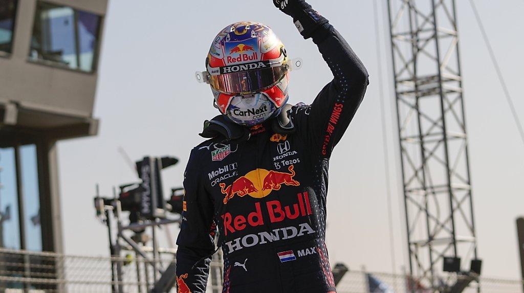 Max Verstappen s'élancera en pole position dimanche à Zandvoort.
