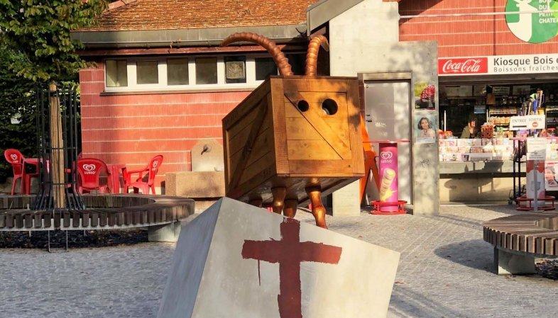 La Chaux-de-Fonds: le Dahu du Bois du Petit-Château a été vandalisé