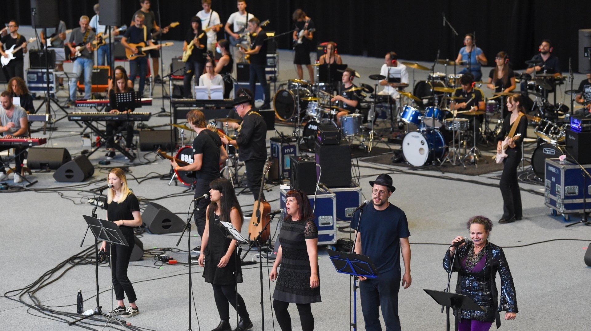 Neuchâtel: plus de 70 musiciens sur scène pour prouver que la musique est partage