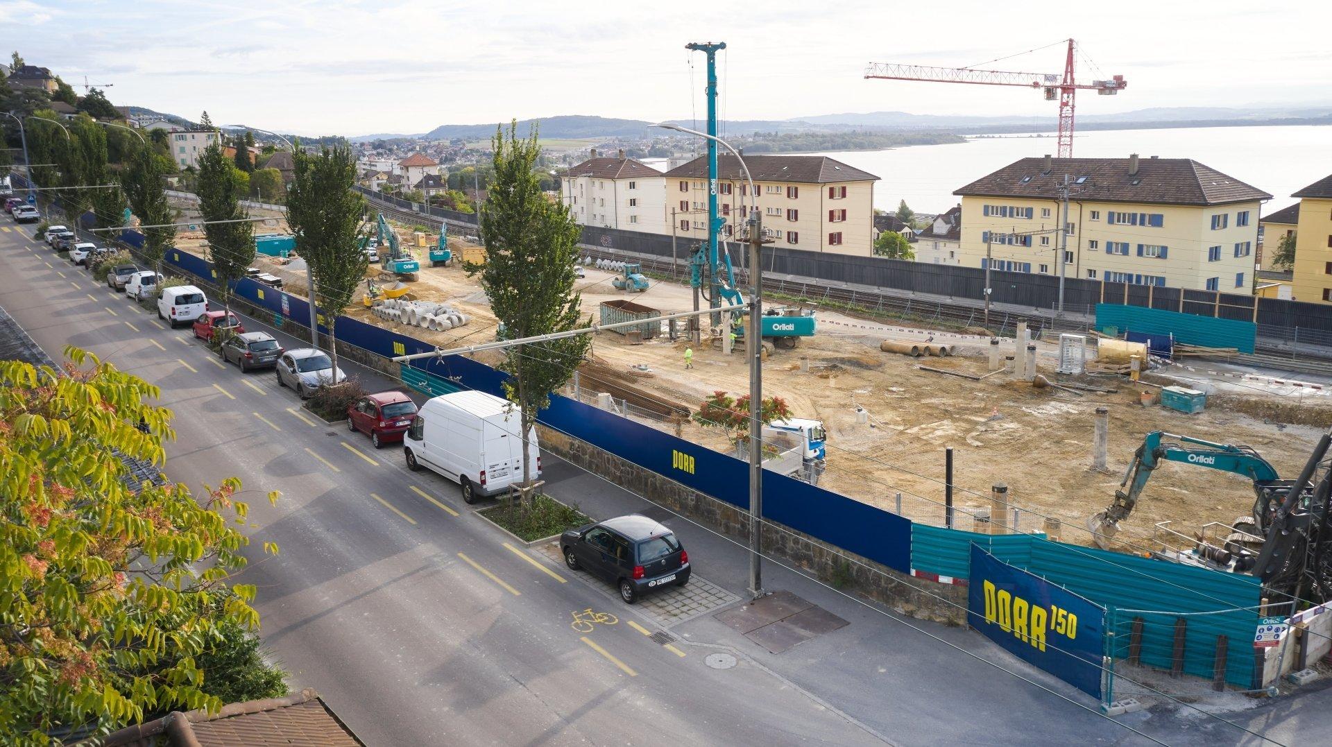 Neuchâtel: changement d'entreprise pour le chantier «Bella Vista»