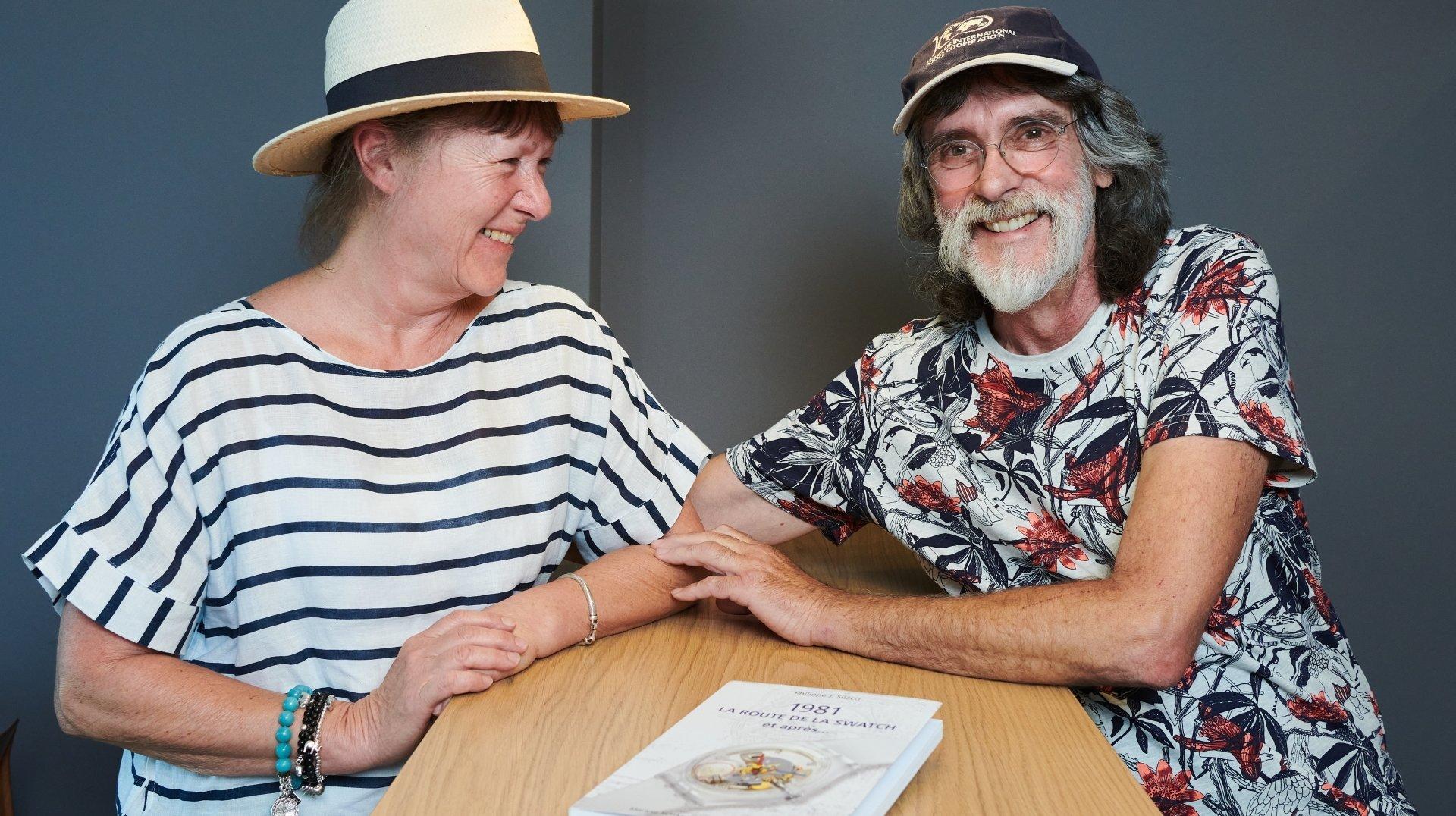 La naissance de la Swatch racontée par Marlyse Schmid et Bernard Müller