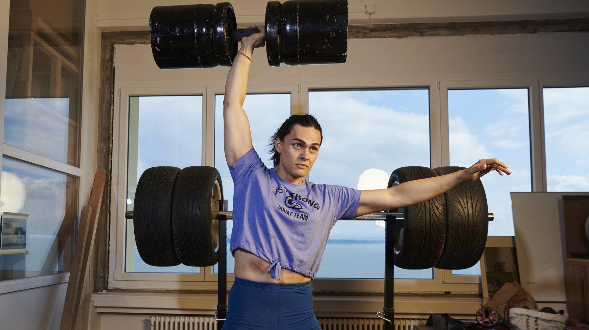 Layla Maillard, la «strongwoman» transgenre