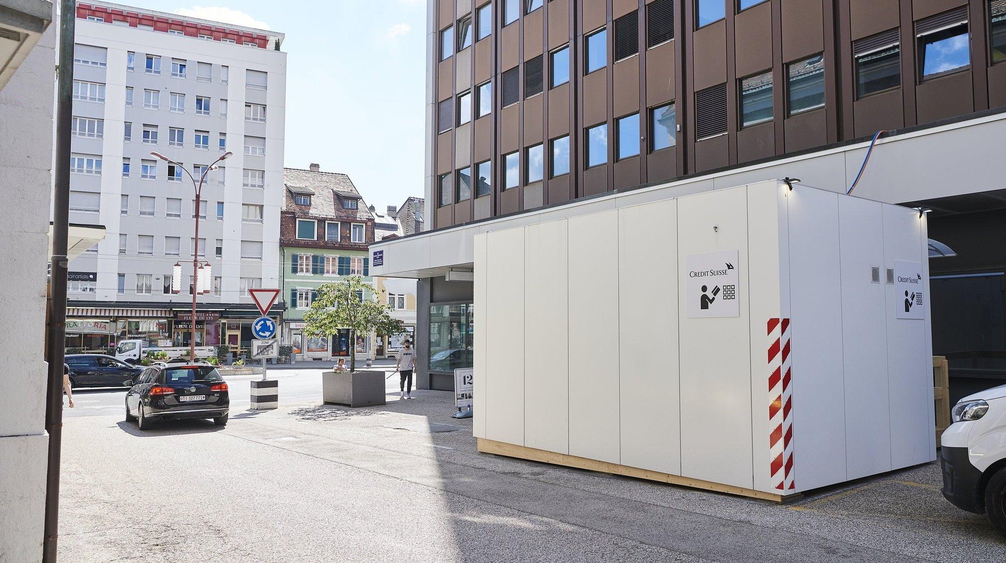 La Chaux-de-Fonds: Credit Suisse ne revient pas (que) pour vos beaux yeux