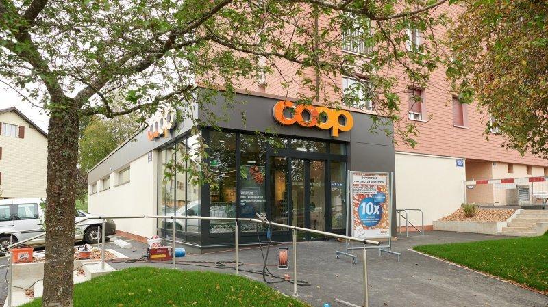 La Chaux-de-Fonds: la Coop des Mélèzes va rouvrir ses portes mercredi