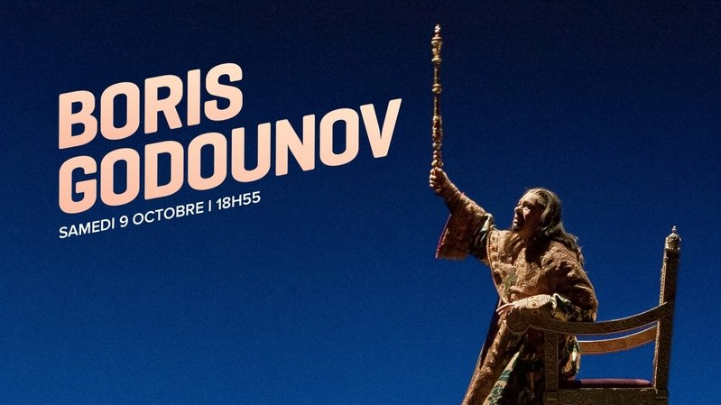 Opéra Boris Godounov
