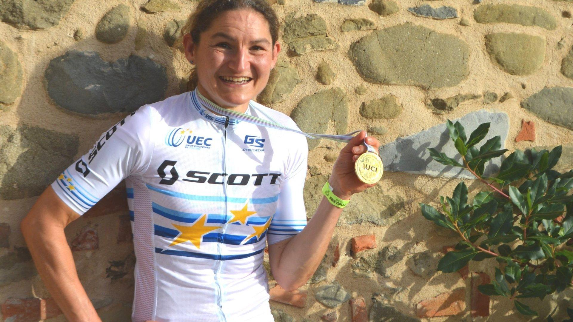 VTT: Florence Darbellay championne du monde de marathon chez les masters