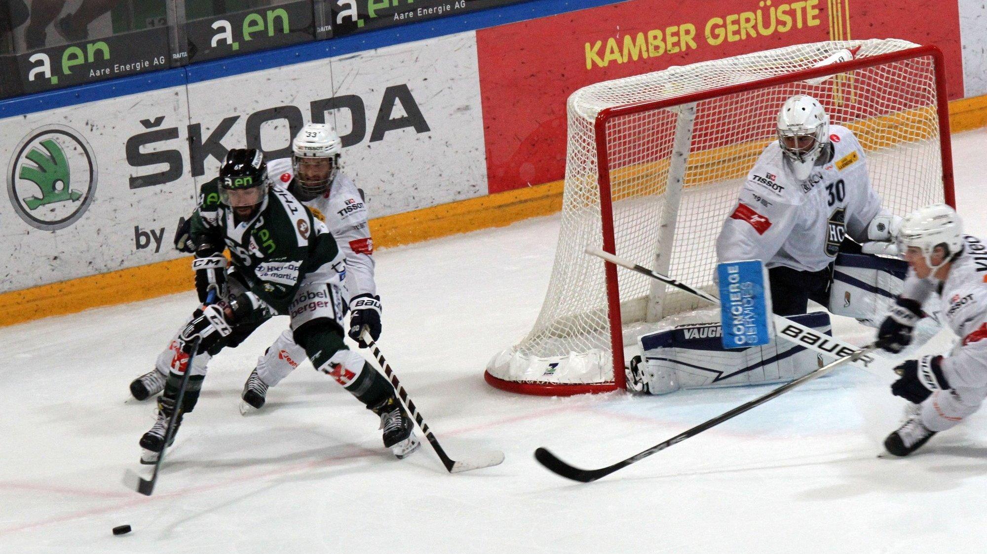 Hockey sur glace: le HCC en prend six au Kleinholz contre Olten