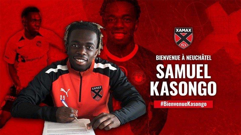 Football: Samuel Kasongo rejoint Xamax sous forme de prêt