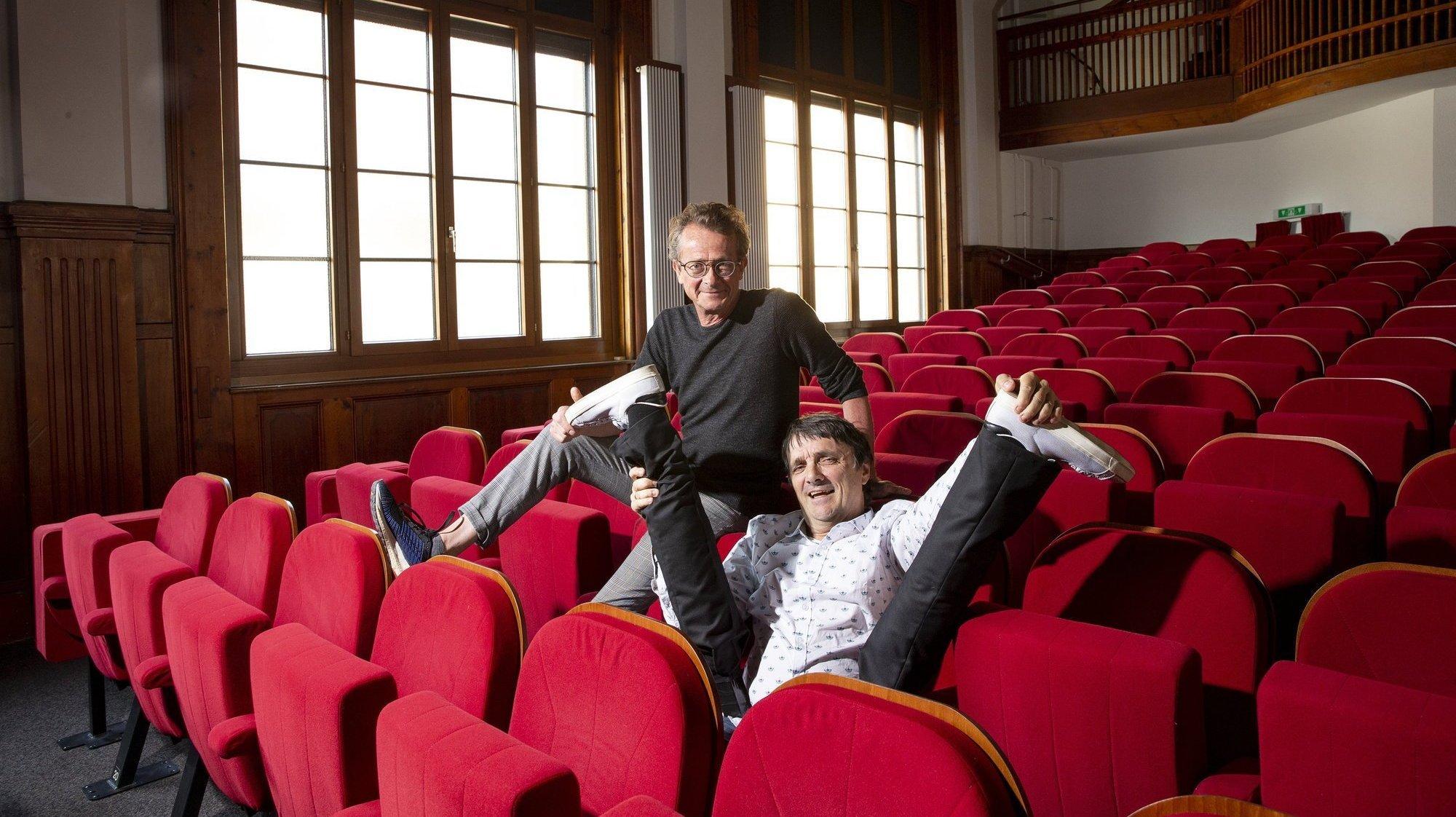 Vincent Kohler et Pierre Aucaigne évoquent leur coup de foudre sur scène