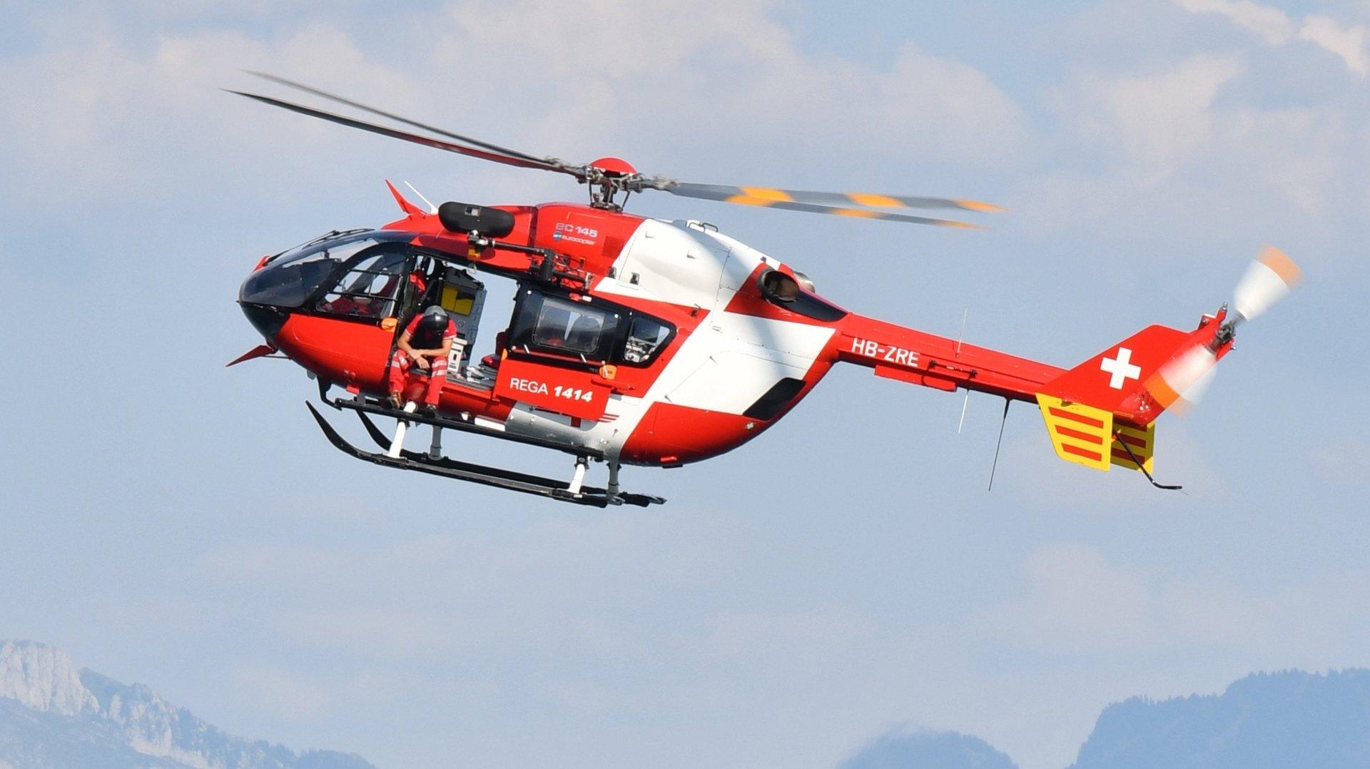 La Chaux-de-Fonds: un cycliste gravement blessé a été héliporté